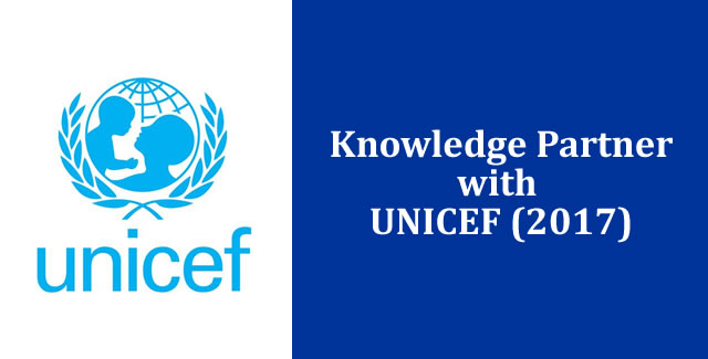 Knowledge partner with UNICEF